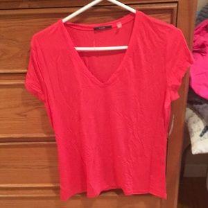Tahari Coral Shirt